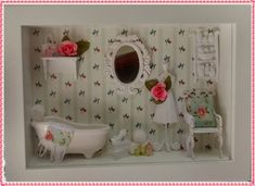 Cenário Banheiro - Mademoiselle Green