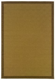 Designer rugs at 60% off! Oriental Weavers Terrace Lanai 5251 Brown Rug