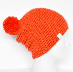 Design Your Own Slouchy Floppy Pompom Bobble Beanie