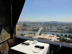 Portland City Grill Restaurant - 30th floor of USBancorp Tower (my regular lunch spot)