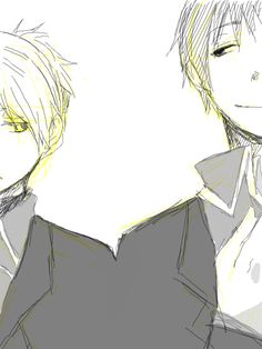 An image of Roy and Riza from FMA