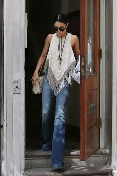 Vanessa Hudgens - The latest in Bohemian Fashion! These literally go viral!