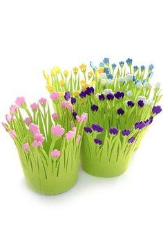 Çiçek saksı