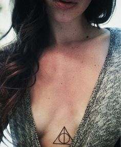 The Deathly Hallows tattoo