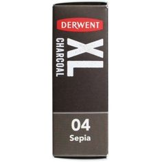 Derwent XL Charcoal Blocks Tin Set of 6 Multi-Coloured