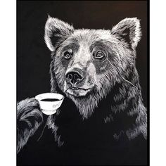 Browse Mr Bear Print and more from Jimbob Art at Wolf & Badger - the leading destination for independent designer fashion, jewellery and homewares. Do It Yourself Decoration, Paper Wall Art, Black And White Wall Art, Black White, Love Bear, Bear Print, Limited Edition Prints, Watercolor Illustration, Online Art