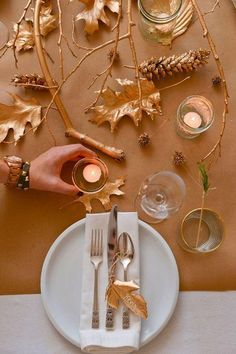 15 Terrific Tablescapes for the Ultimate Thanksgiving