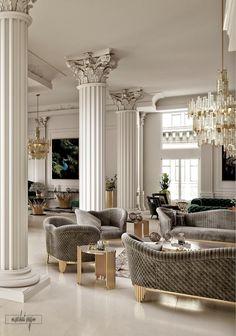 VWArtclub - Classic Interior # classic Home Decor Classic Interior Modern Classic Interior, Classical Interior Design, Interior Design Minimalist, Classic Home Decor, Elegant Home Decor, Elegant Homes, Classic House, Contemporary Classic, Modern Luxury