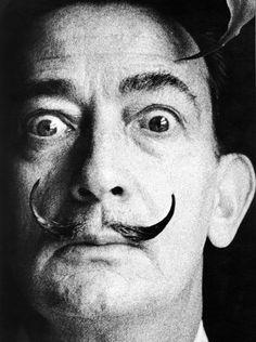 """theconstantbuzz: Salvador Dalí © Antony Armstrong-Jones """"Snowdon"""""""
