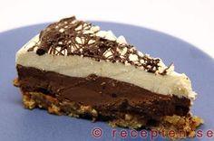 Recept på frusen chokladtårta