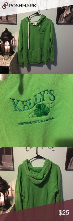Kelly's bar Neptune nj Irish green sweatshirt So comfy and bright green perfect for st pattys day! Tops Sweatshirts & Hoodies