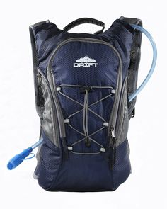 Hydration Backpack with 2 Liter Water Bladder Fits Men
