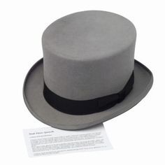 5066829441677 How to Make a Formal Top Hat Out of Felt