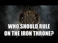 Game of Thrones Cast Interviews - Who Should Rule On The Iron Throne?