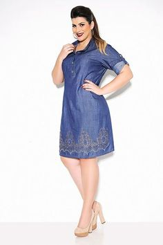 Cool Casual Clothes For Women vestido plus size jeans 3... Check more at http://24myshop.cf/fashion-style/casual-clothes-for-women-vestido-plus-size-jeans-3/