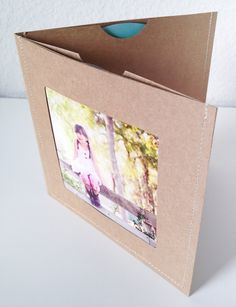 DVD Cases / Sleeves - Set of 20 brown double DVD sleeves w/photo opening on…