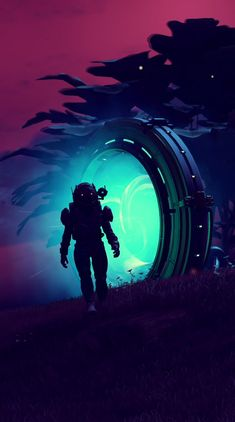 Stranger Things // No Man's Sky Arte Sci Fi, Sci Fi Art, Fantasy Landscape, Fantasy Art, Cosmos, Arte Dope, Space Artwork, Space Cowboys, Sky Art
