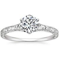 Antique Style Engagement Rings & Vintage Style Engagement Rings | Brilliant Earth