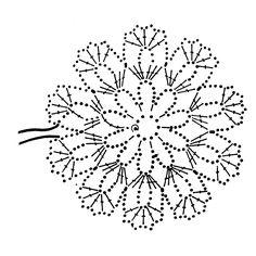 Snowflakes - Her Crochet, Diy Abschnitt, Crochet Snowflake Pattern, Crochet Motif Patterns, Crochet Stars, Crochet Snowflakes, Crochet Diagram, Thread Crochet, Crochet Designs, Crochet Doilies, Crochet Flowers