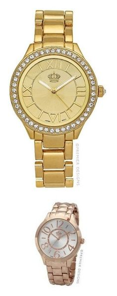 """Premier Designs Watches"" by christinecrews ❤ liked on Polyvore featuring jewelry and pendants"