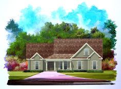 Frank Betz has an available floor plan entitled Azalea Park House