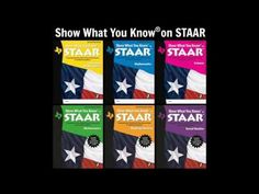 Show What You Know® on STAAR is a test-preparation system that prepares students in grades 3-8 for the State of Texas Assessments of Academic Readiness. Student workbooks assess student knowledge of the Texas Essential Knowledge and Skills (TEKS) with two full-length assessments for each subject. Questions provide students with the necessary pra...
