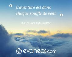 #inspiration #voyage #Evaneos #avion #ciel #nuages #citation