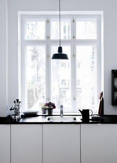 a very Danish kitchen