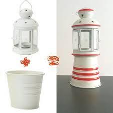 Un faro con i vasi di terracotta vasi pinterest for Vasi terracotta usati