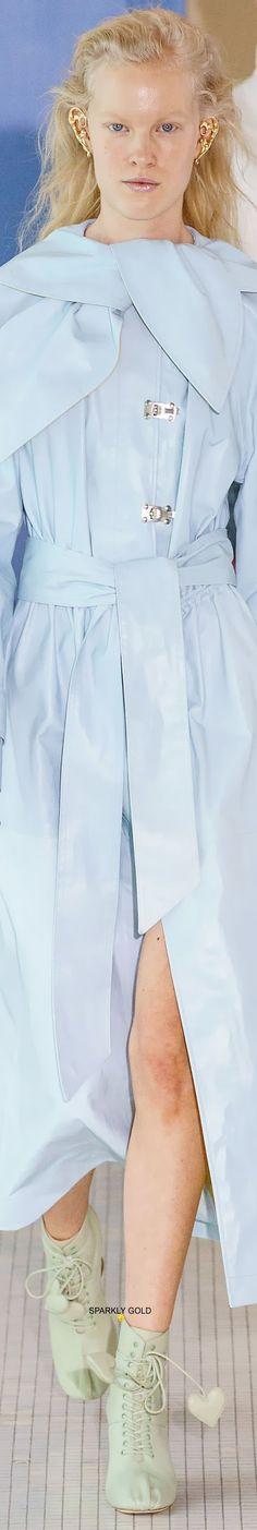 Blue Fashion, Fashion 2020, Spring Fashion, Jeanne Lanvin, Light Blue, Runway, Menswear, Shirt Dress, Play Dress