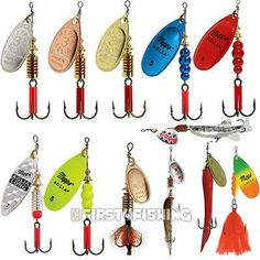 Mepps aglia #spinners / #lures - sea #trout pike perch salmon bass fishing tackle, View more on the LINK: http://www.zeppy.io/product/gb/2/171983070959/