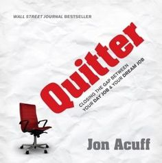 Head over to Noisetradeto pick up aFREE audiobook, Quitter, by Jon Acuff. If you're struggling with unemployment, not loving your current job or desire to pursue your 'dream job' this is the book for you. Jon Acuff is hilarious, strategic and helpful with the tips he offers in this book. A must 'listen' for sure …