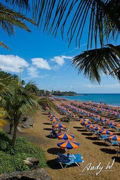 Empty Beach | Playa Grande en Puerto del Carmen | Flickr - Photo Sharing!