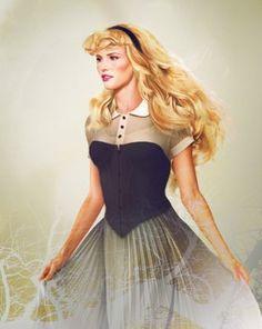 If Disney princesses were real...