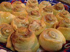 Delectably Skinny: Healthy Recipes: Warm Cinnamon Swirls