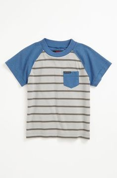 Striped tee for the little man!