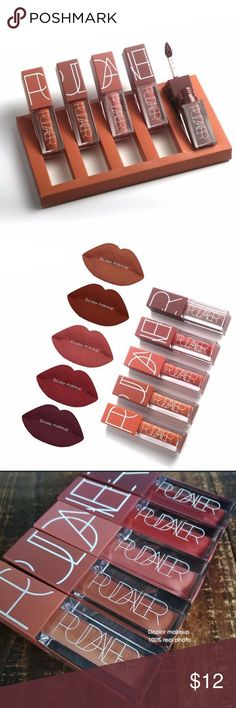 Asha Raquel Pudaier Matte Lipstick Lipstick comes in a set, of neutral colored Lipsticks Makeup Lipstick