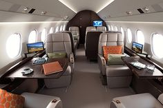 Falcon 2000LXS- The ultimate combination of range, agility and comfort.