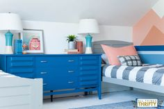 Boys' Boating and Waterski Room Makeover REVEAL