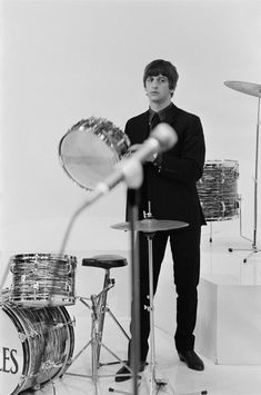 1964 - Ringo Starr in A Hard Day's Night film.