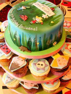 Ben & Holly Cake (and cupcakes) #benandhollyparty