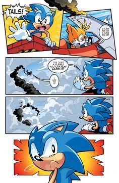 PREVIEW: 'Sonic the Hedgehog' #289 by Ian Flynn, Tracy Yardley, Terry Austin, et al