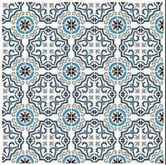 carreau ciment wave | carreau de ciment bleu mosaïque | carreau ciment bleu pas 59€/m² HT