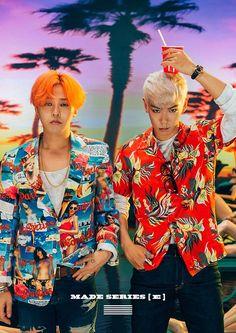 BIGBANG | G-Dragon [Kwon Ji Yong] & T.O.P [Choi Seung Hyun] | MADE Series E official Naver concept photos