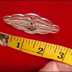 Vintage Filigree Brooch🎄CHRISTMAS SALE 🎄 Silver brooch of South American origin. Jewelry Brooches