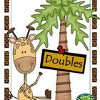 Practice math facts (doubles)while playing a game. Great game for centers!...