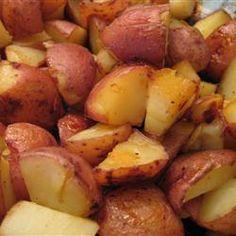 Honey Roasted Red Potatoes