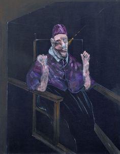 Francis Bacon, Le Pape Innocent X, (1953). Des Moines Art Center, USA.