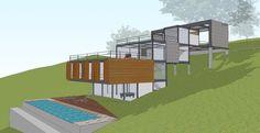 R2N Arquitetura e Urbanismo: Residência DR (Atibaia/SP) 2011-2012