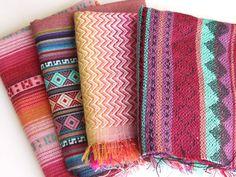 Tribal Fabric Peruvian Fabric Woven Aztec by sweetllamasupplies, $24.00